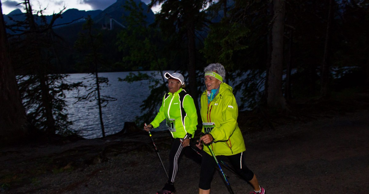 Night - Nordic Walking