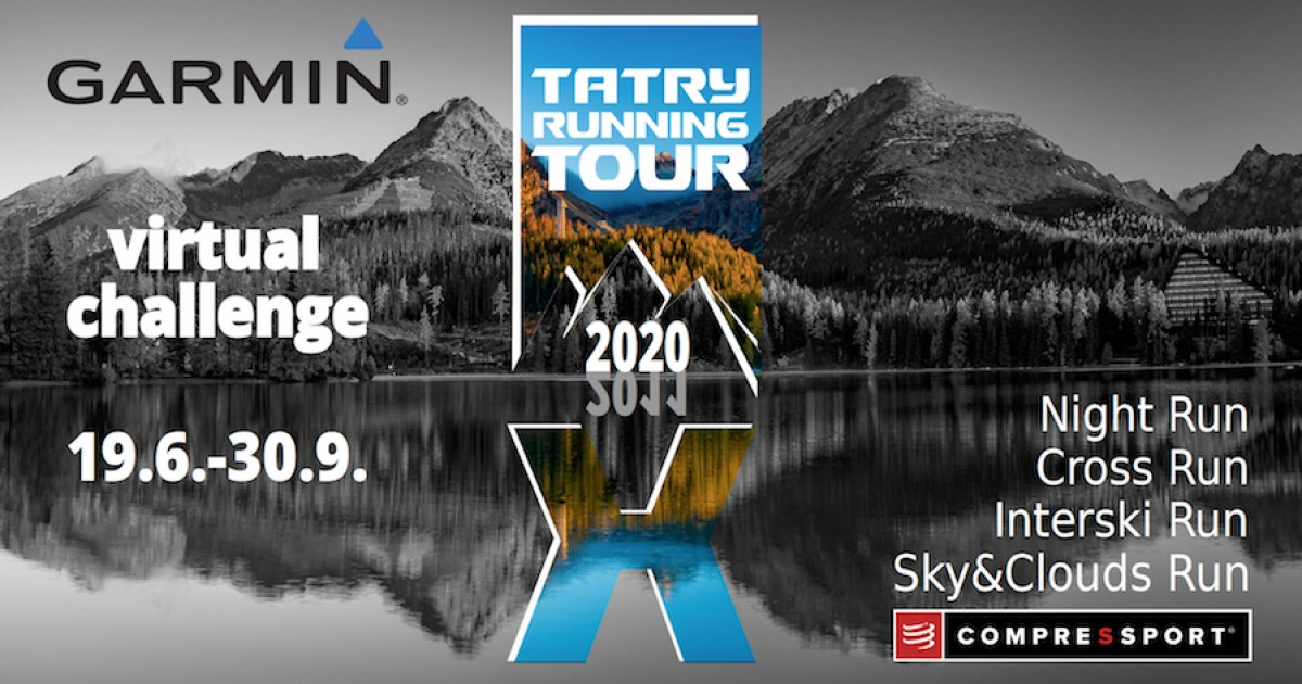 GARMIN virtual challenge TATRY RUNNING TOUR 2020